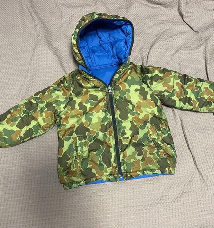 Тепла осіння куртка gap, для хлопчика 3t, двохстороння