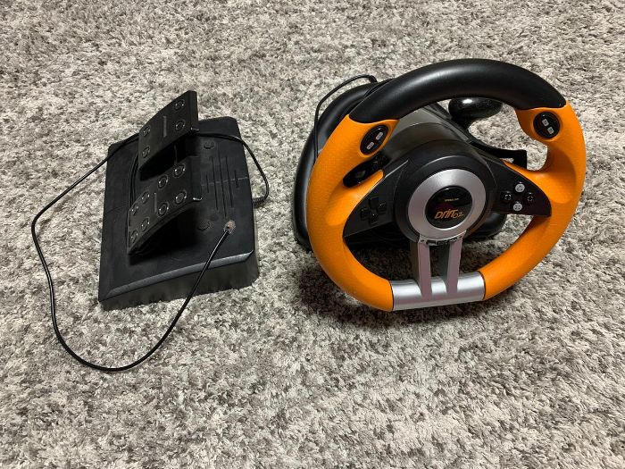 Kierownica do konsoli / PC USB SpeedLink DRIFT O.Z. Włocławek - image 1