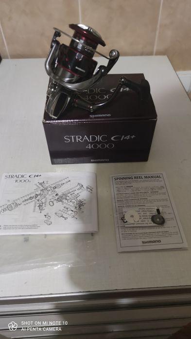 Продам катушку Shimano Stradic CI4+ 4000 Черновцы - изображение 1