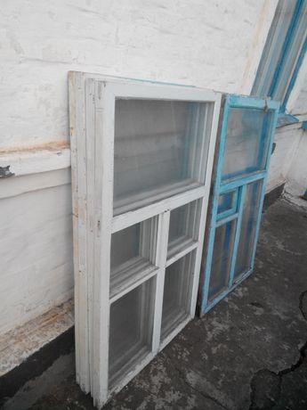 Окна деревянные 80*130см.