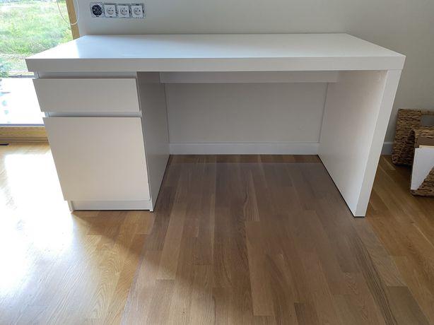Biurko Ikea z szuflada i szafka