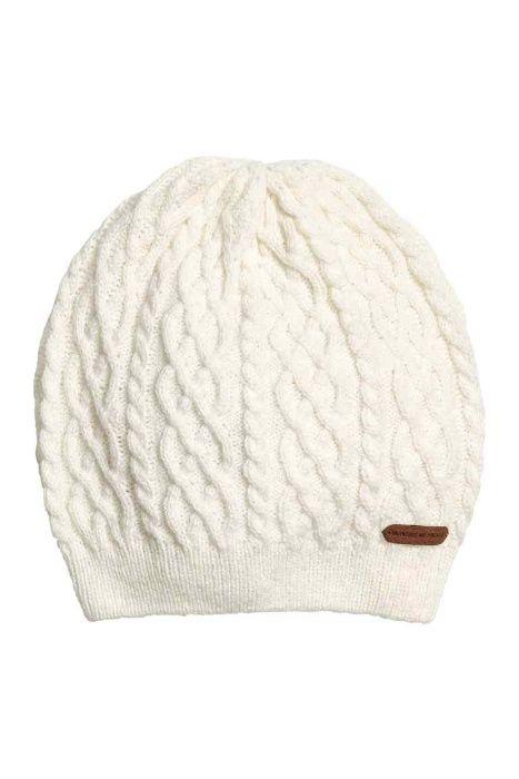Белая деми шапка H&M ХМ раз 8-12 лет рост 134-152 ОГ 53-55 см Прилуки - изображение 1