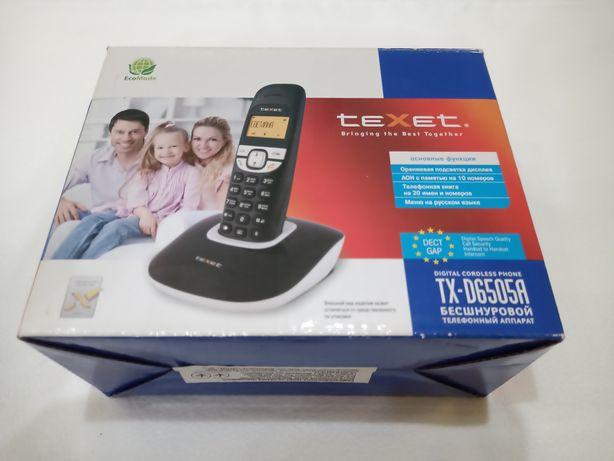 Радиотелефон Texet TX-D6505А BL