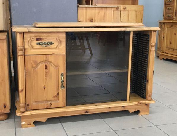 Szafka RTV drewniana w skandynawskim stylu
