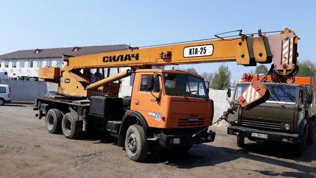 Услуги/аренда автокрана 25 тонн (22метр). Днепр, область, Украина. НДС