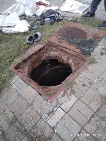 Выкачка.Ручная чистка сливных ям. Сливная яма. Септик. Яма под ключ.