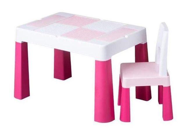Детский комплект - пластиковый стол и стульчик, Tega Baby Multifun