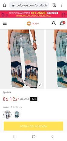 Spodnie z górskimi widokami ;)