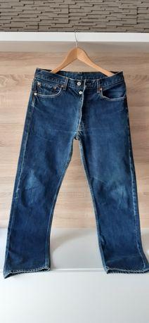 Jeansy Levi's 501 W32 L32 - nowe