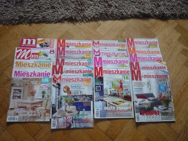 Gazety M jak Mieszkanie różne roczniki 18 sztuk