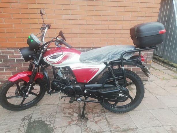 Мотоцикл Alfa Ft125 мопед альфа
