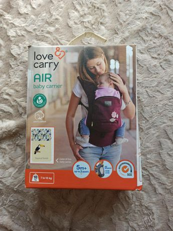 Эрго - рюкзак ( переноска, кенгуру, слинг) Love & carry Air baby