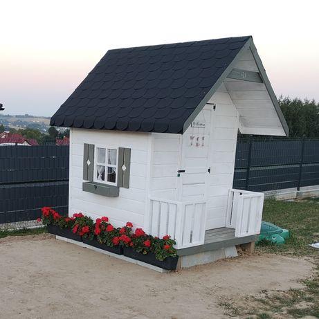 Domek drewniany dla dzieci 150x200