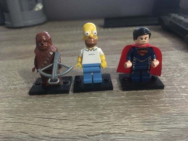 Lego minifigures original/simpsons,star wars,super  heroes/