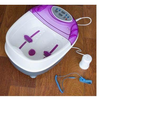Terapia de limpeza pés com electrólise