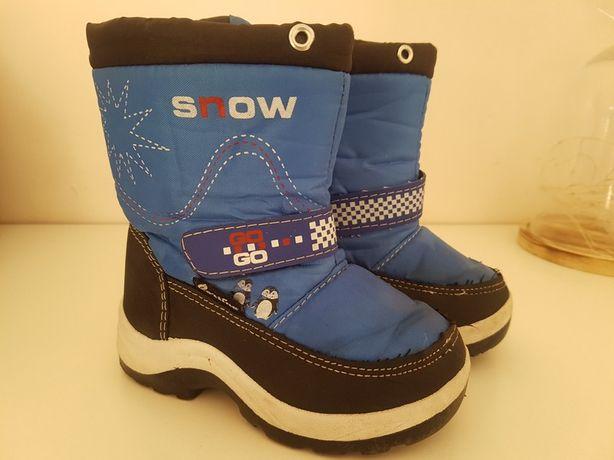Buty śniegowce chłopięce zima 23 zimowe