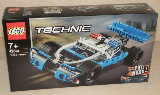 Klocki LEGO TECHNIC 42091 Policyjny pościg NOWE