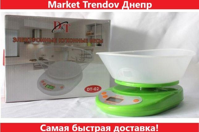 Кухонные электронный весы с чашей до 5 кг DT-02