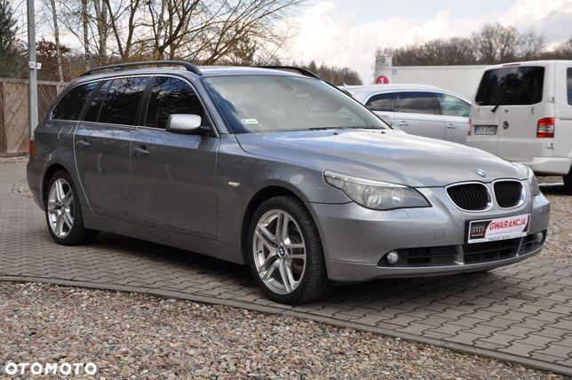 BMW Seria 5 GWARANCJA 2.5diesel 177PS Kombi Xenon Skóra ZADBANA Sprawdź Zamiana