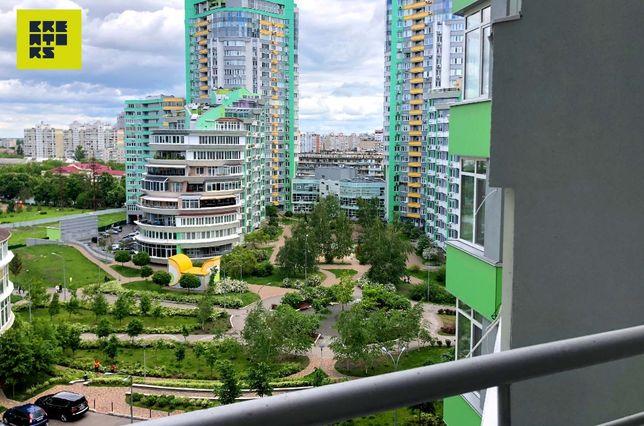 93.1м2 — 2-к квартира в ЖК Паркове місто.