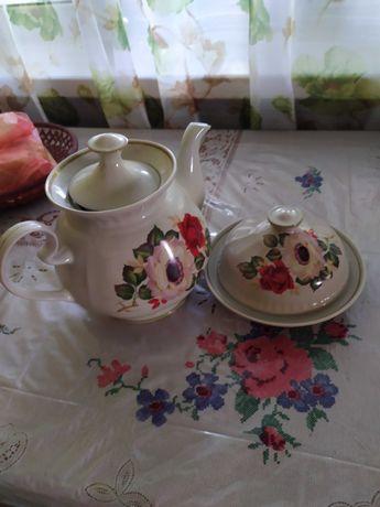 Чайник керамічний з масленицею