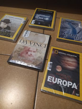 DVDs da National Geographic