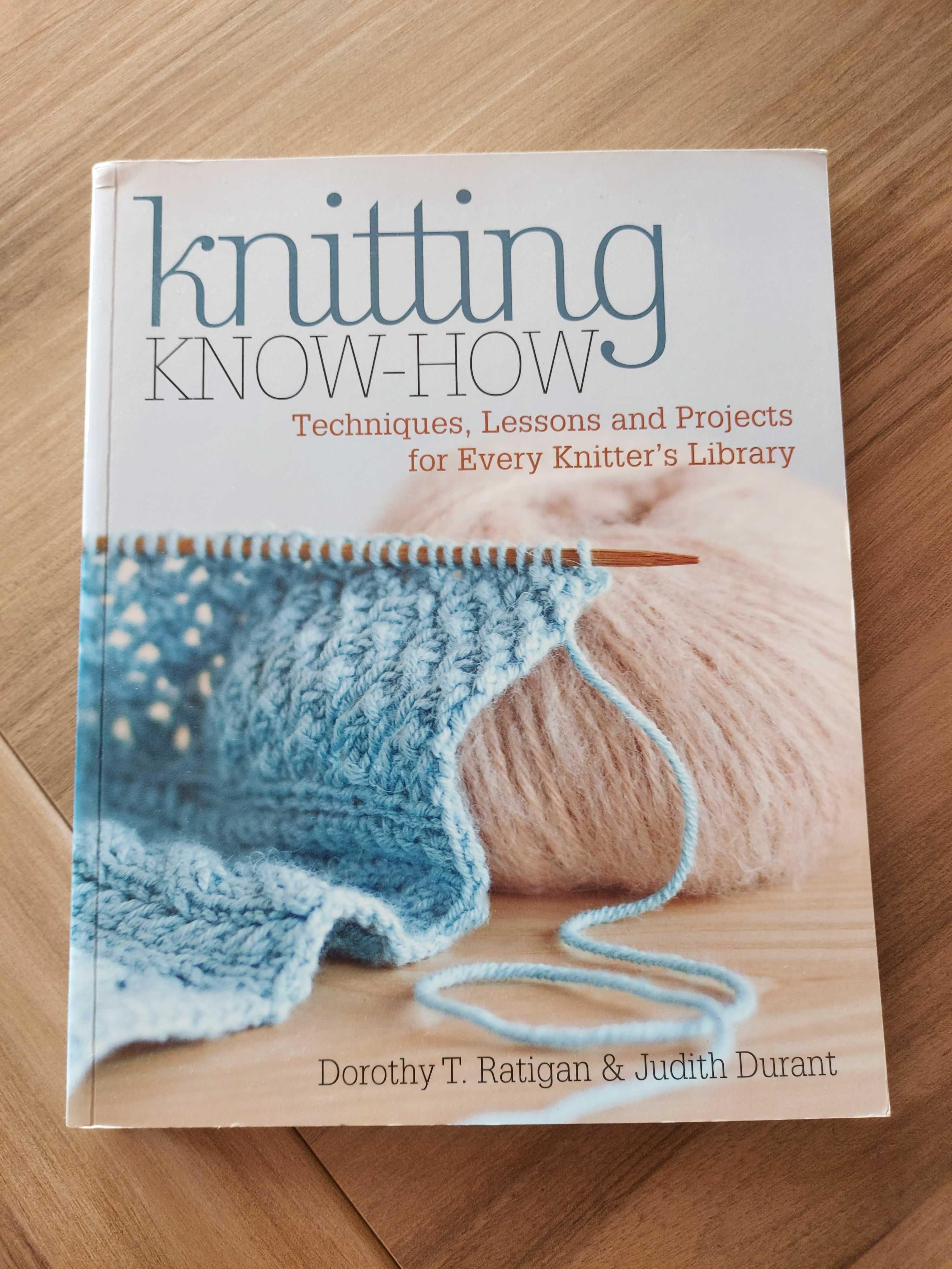 "Livro crochet ""Knitting know-how"""