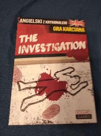 The investigation - gra karciana - angielski z kryminałem