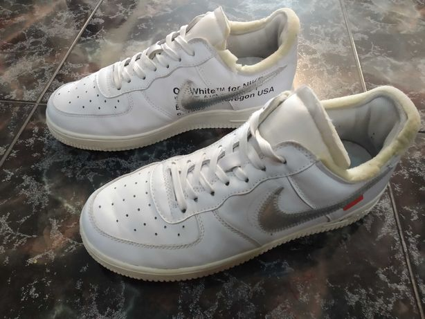 Кроссовки Nike Air Force 1 Low Virgil Aboh Off-White