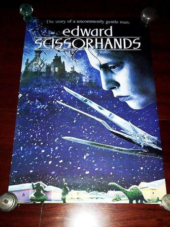 Cartaz do filme Edward Scissorhands