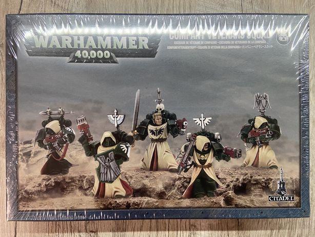 Warhammer 40K Dark Angels Company Veterans Squad