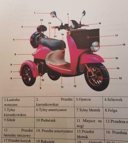 pojazd elektryczny  trójkołowy ZT63