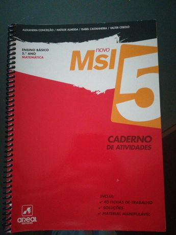 Caderno de atividades de Matemática Msi 5