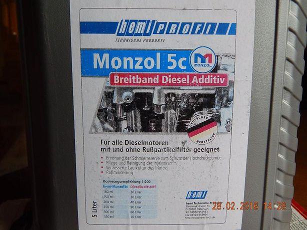 MONZOL 5C Dodatek do ON oleju napędowego czyści SMARUJE