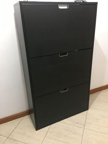 Sapateira preta IKEA
