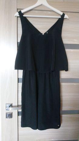 Czarna sukienka na ramiączkach Cropp rozm M