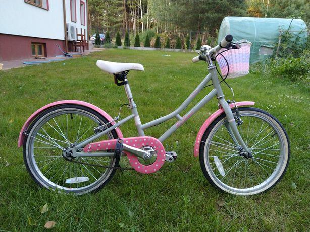 Piękny rower dla dziewczynki 5-7 lat