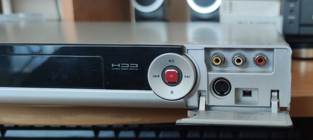 Nagrywarka DVD Philips z dyskiem twardym DVDR3450H/58, zamiana