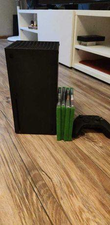 Xbox series X 1T pad + 4gry . Gwarancja