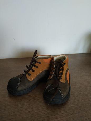 Ботинки детские кожаные 23 р. (15см)