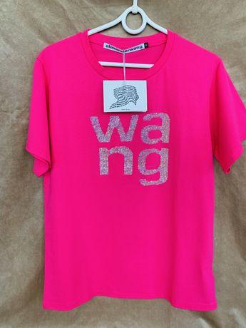 Футболка розова Wang !!!