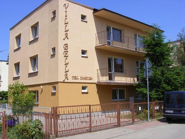 Mielno-Noclegi-Villa Bella lazienki,kuchnia,parking,grill,plac zabaw.