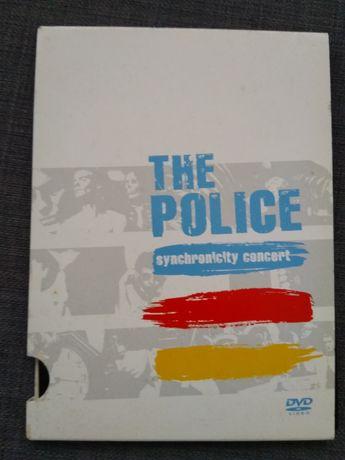 Police live Sinchronicity 2005, dvd