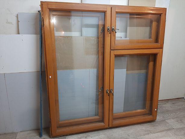 Окно деревянное, двойное, б/у