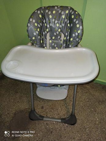 Krzesło Chicco ze stolikiem