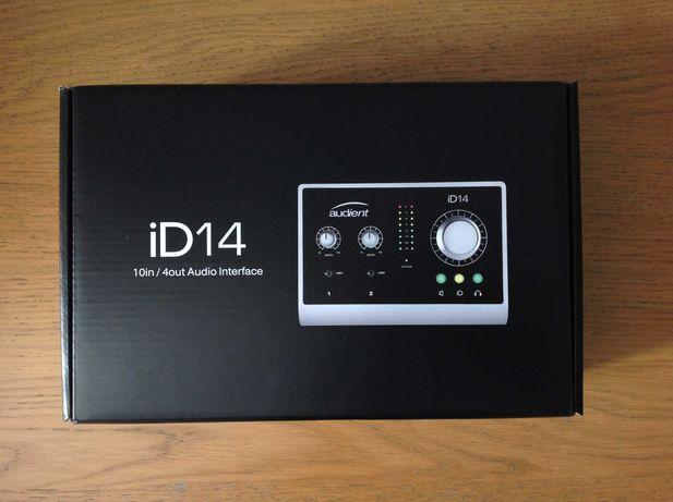Audient iD14 (Interface Audio / Placa de Som) - NOVA