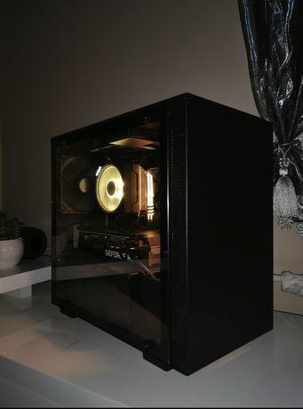 Komputer do gier Ryzen 3600 SSD M2 NZXT MINI ITX