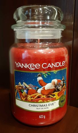Świeca Yankee Candle - Christmas Eve, 623g (duża) - przesyłka 1 zł