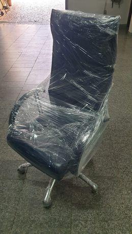 Cadeira de gabinete em pele nova