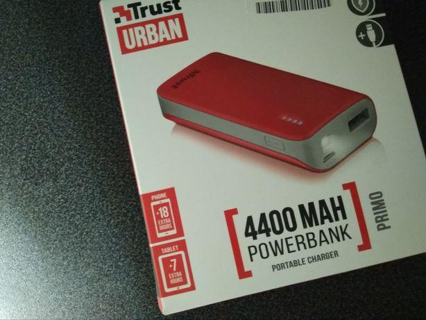Trust Urban 4400MAH powerbank NOWY